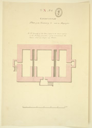 Plan of the granary used as a magazine, Gandikotta